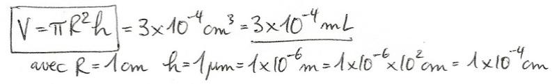 Calculs de surfaces, volumes et périmètres 6310