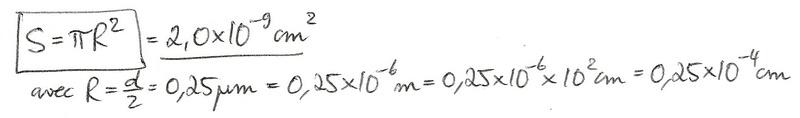 Calculs de surfaces, volumes et périmètres 6510