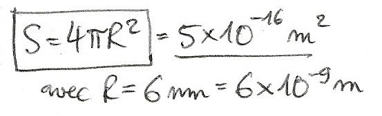 Calculs de surfaces, volumes et périmètres 6710