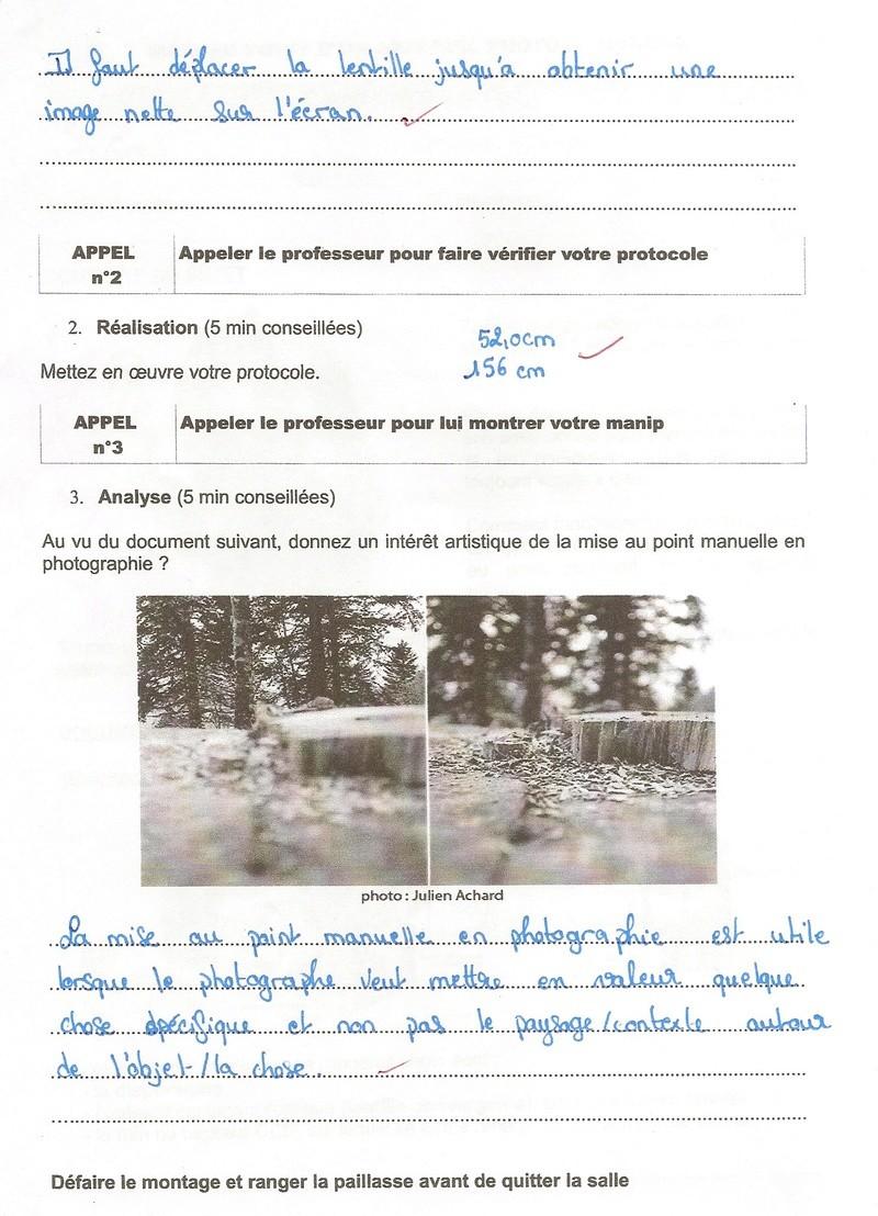 Corrigé du TP n°1 : Mise au point d'un appareil photo Numyri11