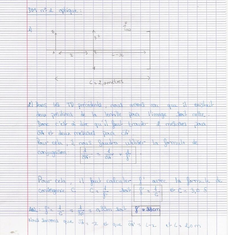 Corrigé du DM n°2 Numyri45