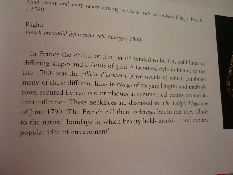 """Les colliers """"en esclavage"""" des XVIIIe et XIXe siècles P1030211"""
