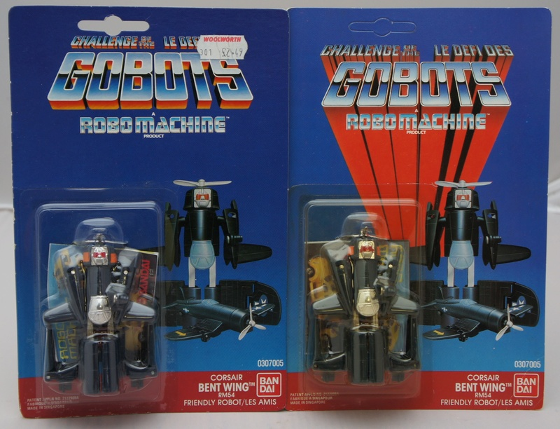 L-R: Mask, Gi-Joe, Roadblasters, Robo Machine... Rm-54-11