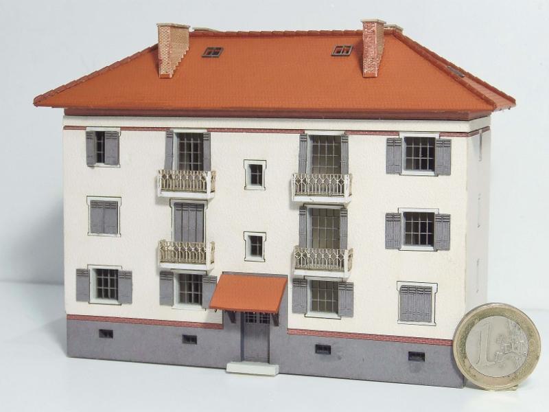[Architecture & Passion] Cité cheminote du PLM mais au 1/160 ! 16051010