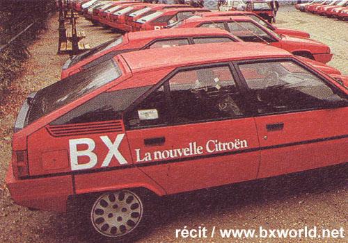 BX 16 TRS Plus vieille Présérie ! 19821110