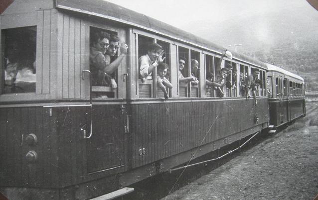 Vagons de fusta de via estreta Catalunya i Espanya 510