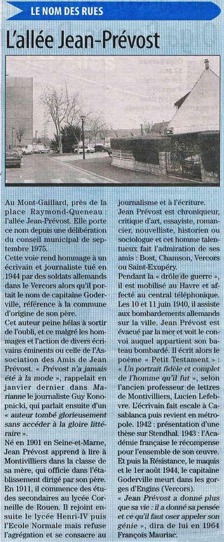 Havre - Le Havre - Allée Jean Prévost (Mont-Gaillard) 2012-010