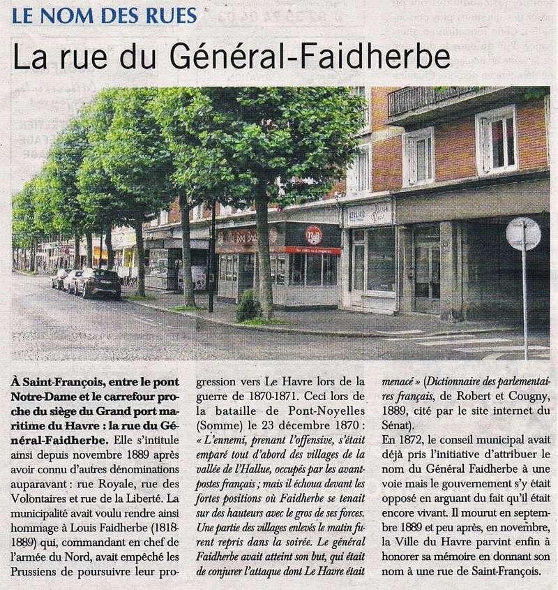 Havre - Le Havre - Rue du Général Faidherbe (Saint-François) 2016-014