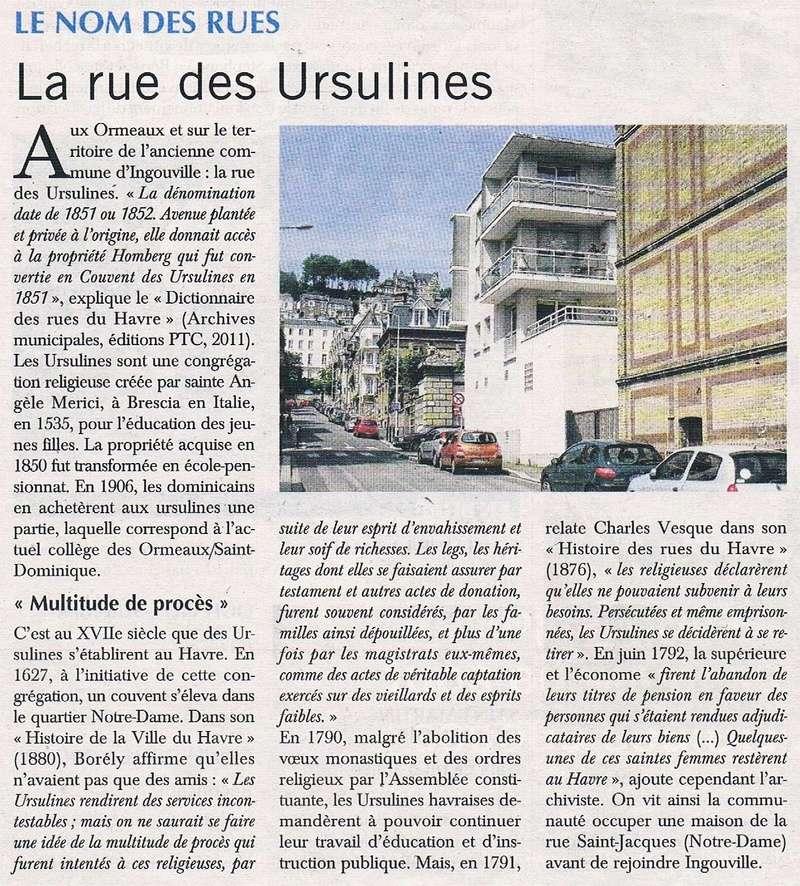 Havre - Le Havre - Rue des Ursulines 2016-018