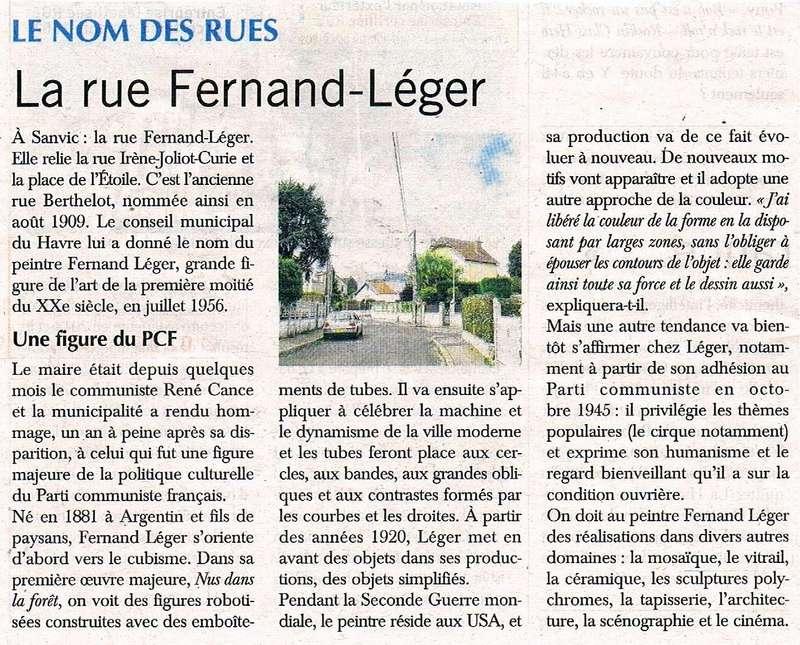 Havre - Le Havre - Rue Fernand Léger (Sanvic) 2016-021