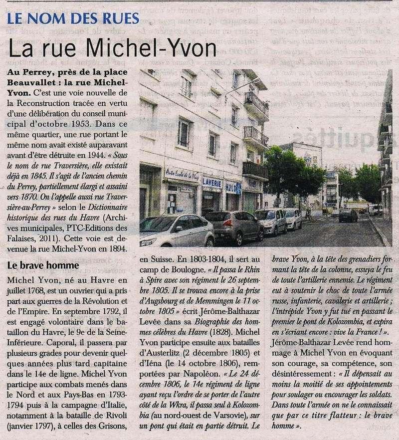 Havre - Le Havre - Rue Michel Yvon (Perrey) 2016-025