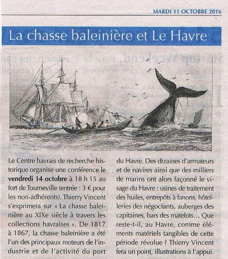 Havre - Conférence sur la chasse baleinière et Le Havre (CHRH) 2016-113