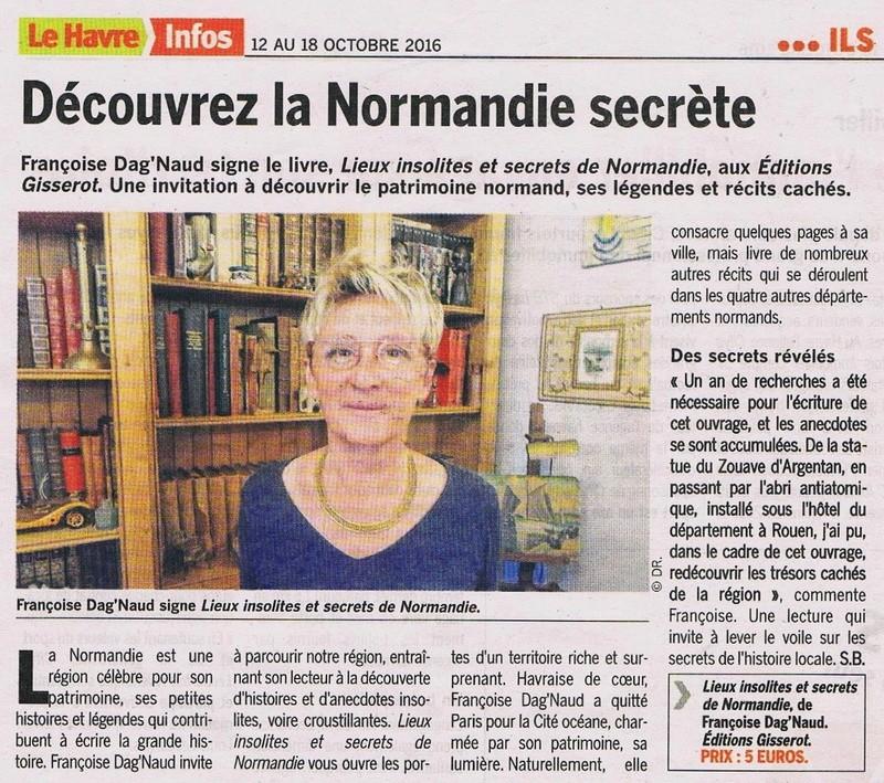 Lieux insolites et secrets de Normandie de DAG'NAUD 2016-114