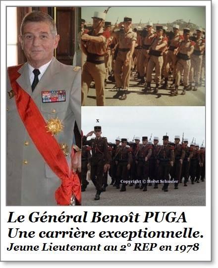 Le geste fort du Général Puga lors de la prise d'armes de la Saint-Michel au 2e REP de Calvi Puga10
