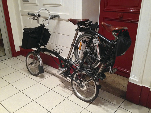 Bike Friday Haul-a-Day pour transporter deux Bromptons Vincen11
