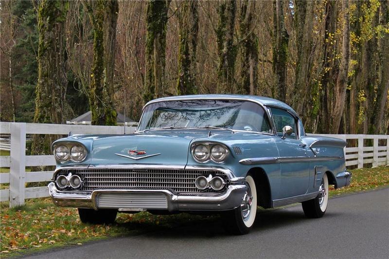 Chevrolet impala 58 terminée  13828310