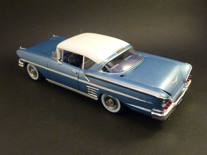 Chevrolet impala 58 terminée  Photos47