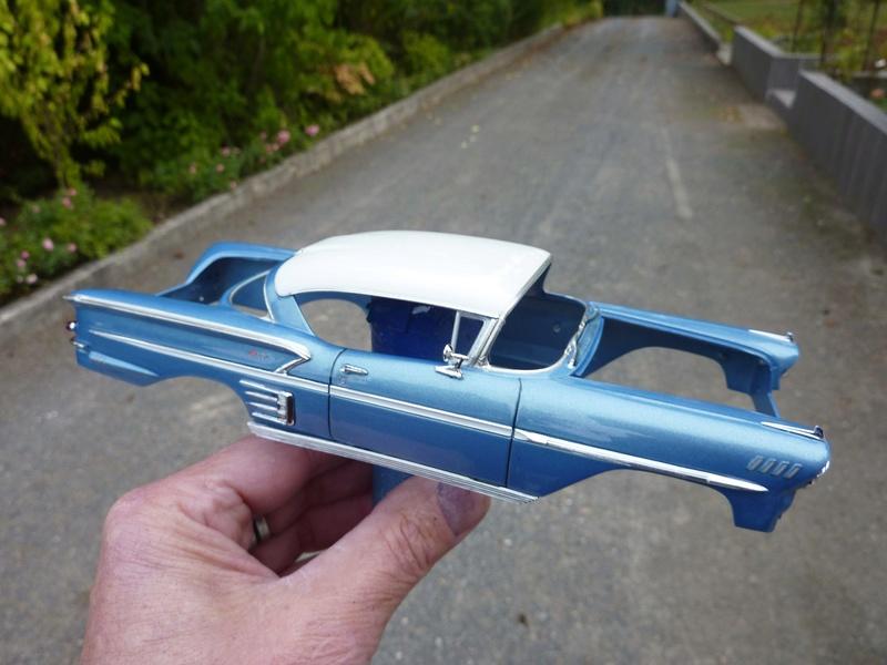 Chevrolet impala 58 terminée  Vernis11
