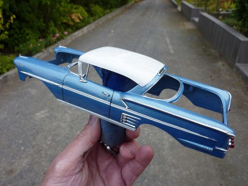 Chevrolet impala 58 terminée  Vernis12
