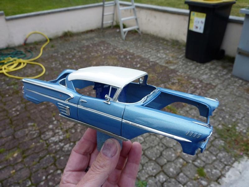 Chevrolet impala 58 terminée  Vernis15