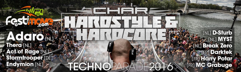 CHAR FESTIMOVE à la TECHNO PARADE 2016 - SAMEDI 24 SEPTEMBRE - PARIS Cover_10