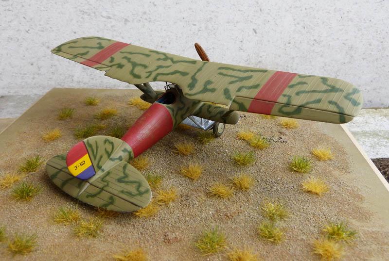 Azur  Hispano Nieuport Nid 52 Aviation R U00e9publicain R U00e9f A041