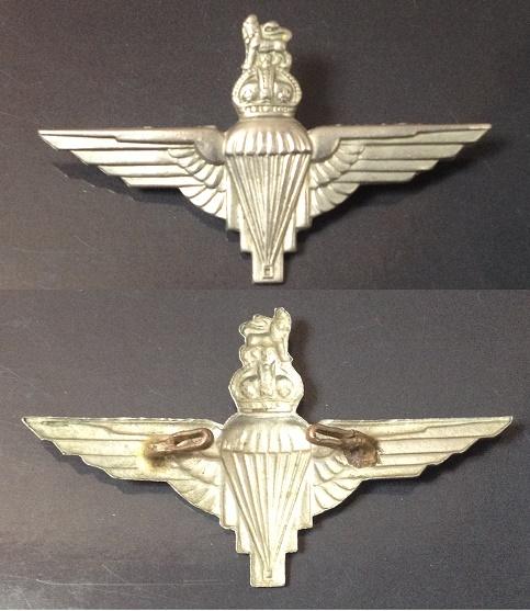 Cap Badge Parachute Regiment ww2 Para_r10