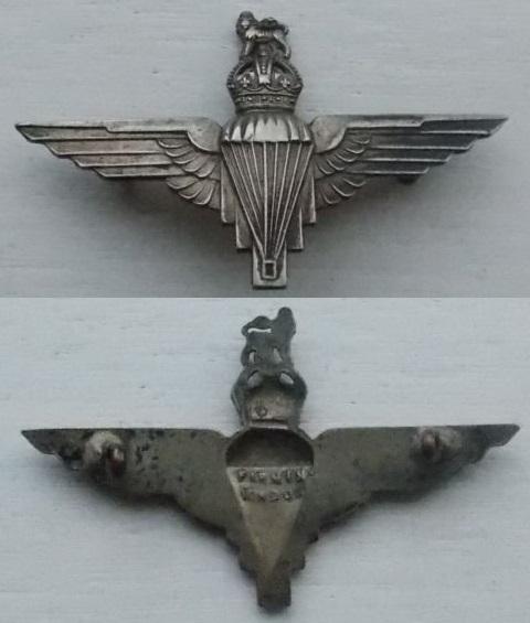 Cap Badge Parachute Regiment ww2 Para_r11