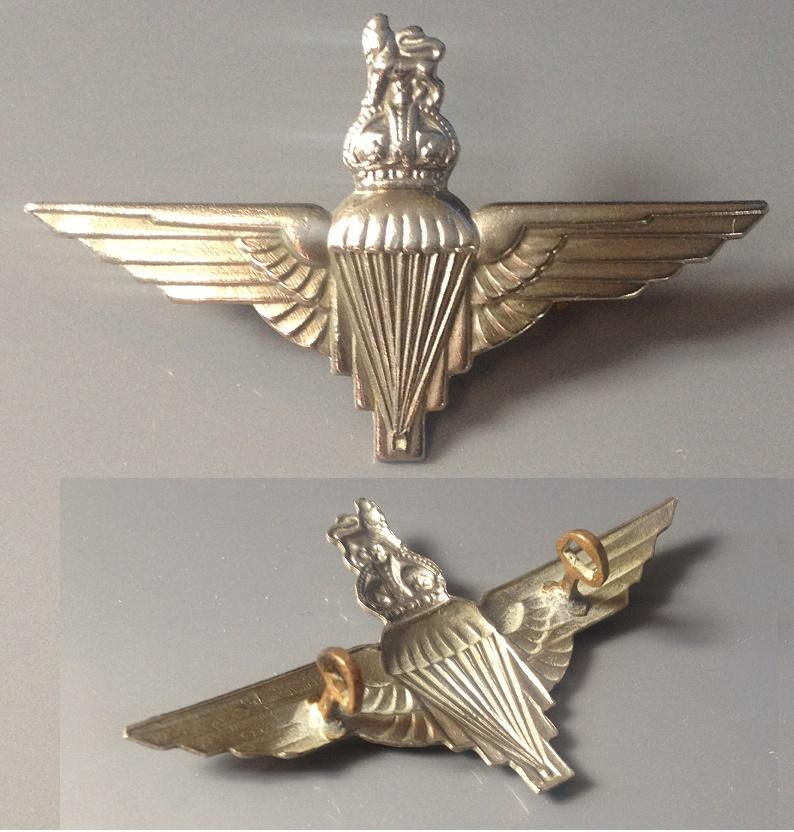 Cap Badge Parachute Regiment ww2 Para_r12