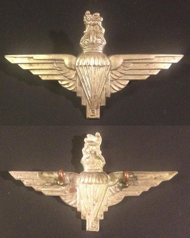 Cap Badge Parachute Regiment ww2 Para_r14