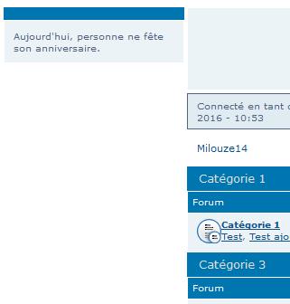 [PHPBB3] Widget anniversaire sur toutes les pages du fofo 111