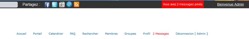 [PHPBB2] Afficher le nombre de message privé non lus sur la toolbar etc 151