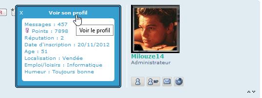[PHPBB3] Afficher les champs du profil au clic sur l'avatar 223