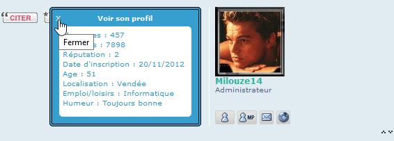 [PHPBB3] Afficher les champs du profil au clic sur l'avatar 317
