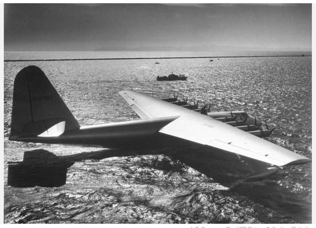 "Hughes H-4 Hercules ""Spruce goose"" (1/200ème - Minicraft Model Kits) Hydrop11"