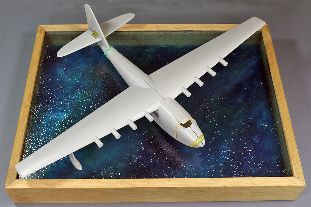 "Hughes H-4 Hercules ""Spruce goose"" (1/200ème - Minicraft Model Kits) Img_9612"