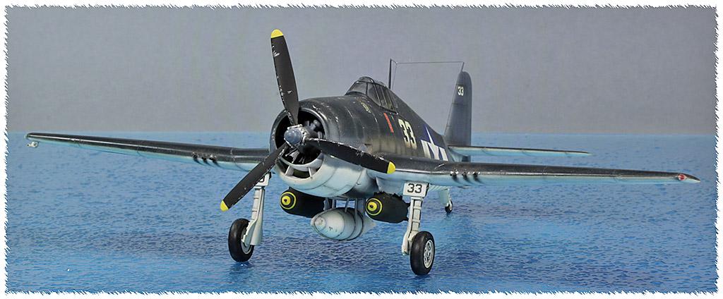 Grumman F6F-3 Hellcat - OTAKI 1/48ème Img_9616