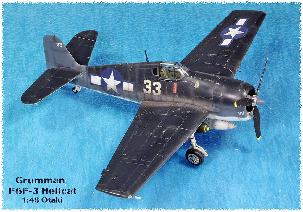 Grumman F6F-3 Hellcat - OTAKI 1/48ème Img_9619