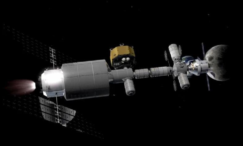 Orbital-ATK propose un avant poste en orbite lunaire pour Orion. Projet12