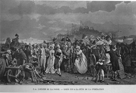 fédération - La Fête de la Fédération (14 juillet 1790)  14591710