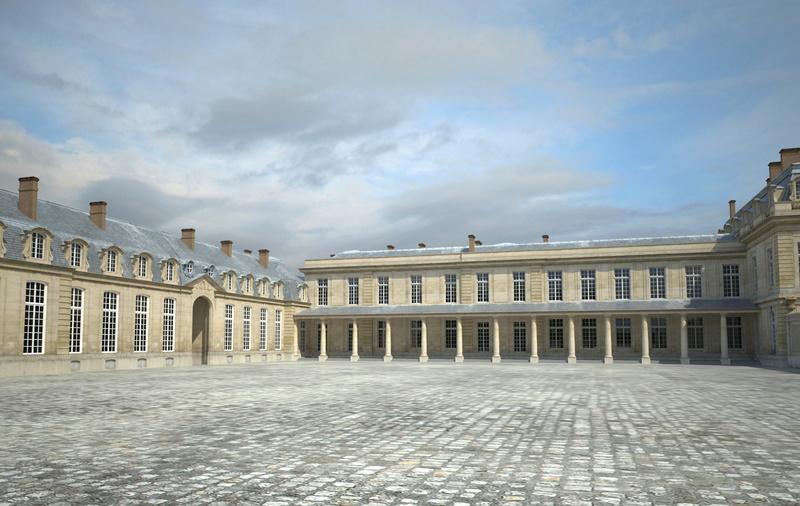 Le château de Choisy 4_cour11