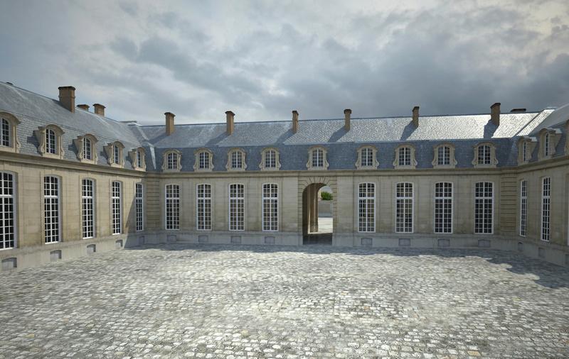 Le château de Choisy 6_cour10