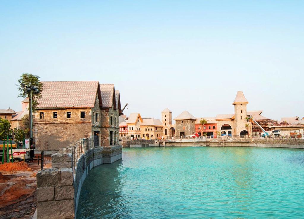 [ÉAU] Dubai Parks & Resorts : motiongate, Bollywood Parks, Legoland (2016) et Six Flags (2019) - Page 3 Riverl12