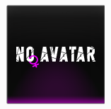 Black no avatar male/female