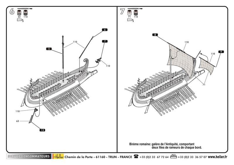 BIREME ROMAINE IMPERATOR - HELLER - 1/1225 - REF : 49077 - NOTICE  49077_11