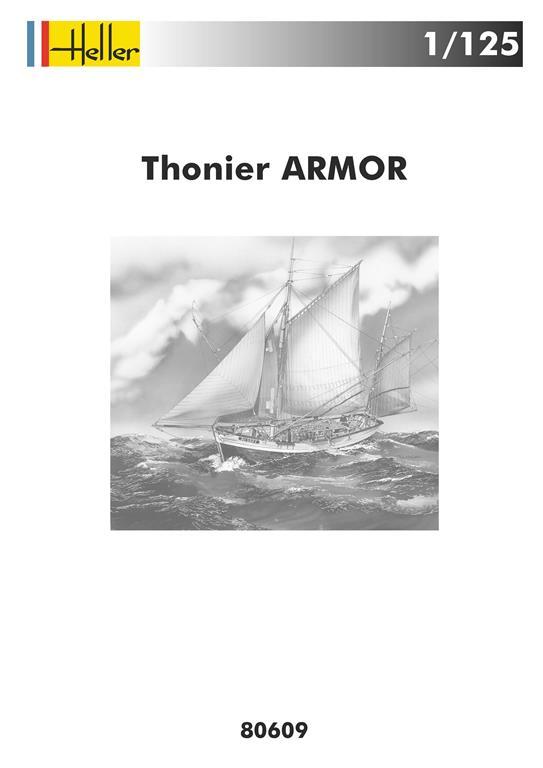 Thonier ARMOR 1/125ème Réf 80609 Notice  80609_10