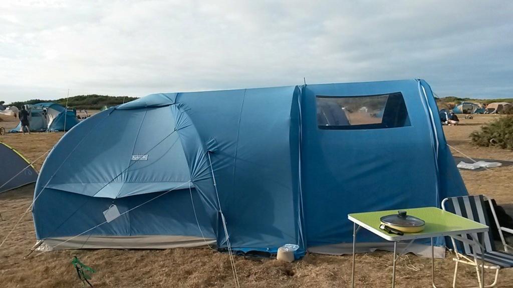 Tentes Karsten : aération et tapis de sol 62bfb210