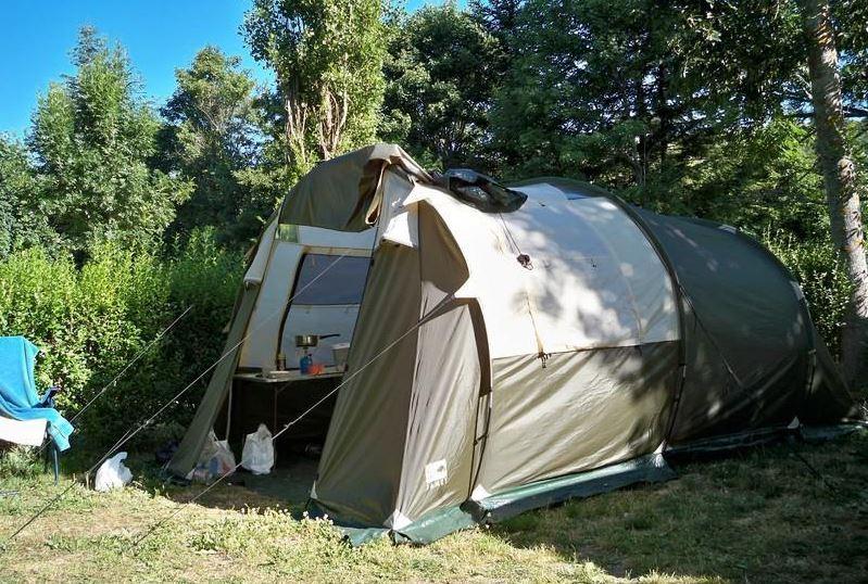 Tente de camping Jamet Pacific 4. Ayant servi 4 semaines. Captur26