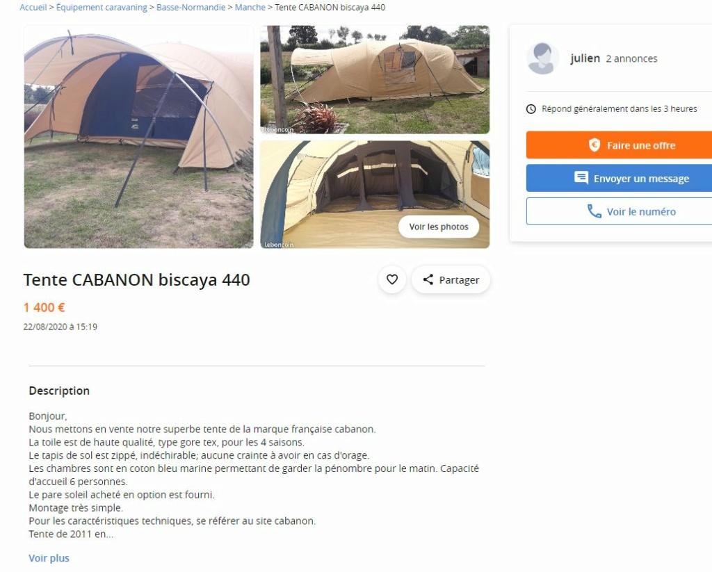 biscaya - Cabanon Biscaya 440 Captur29