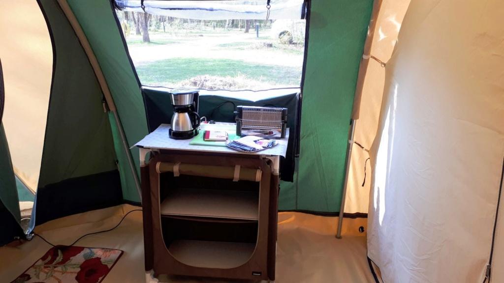 Camp'toile la tente locative de l'association Meuble16